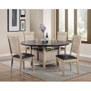 Arrellano 5 Piece Dining Set Loon Peak
