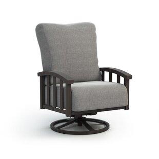 Helwig Swivel Patio Chair with Sunbrella Cushion