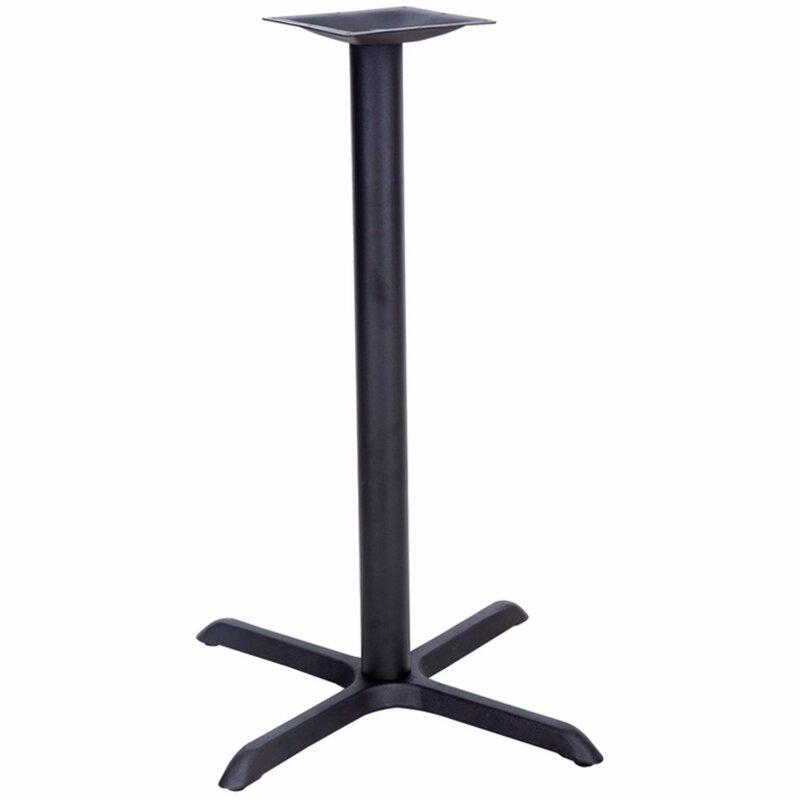 Symple Stuff James Table X-Base with Bar Height Column | Wayfair