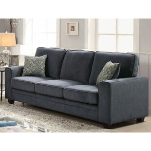 Cabell Sofa with Pillow by Wrought Studio