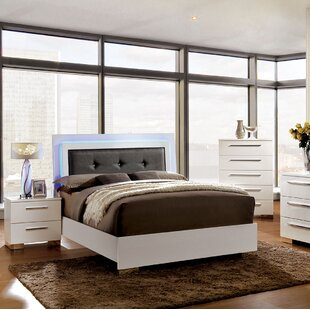 Read Reviews Fordland Upholstered Panel Bed by Orren Ellis Reviews (2019) & Buyer's Guide
