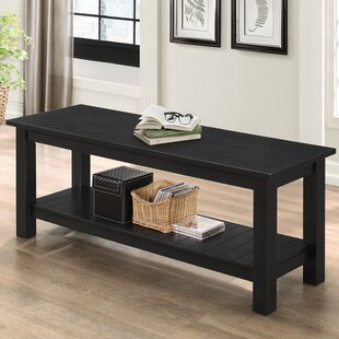 Urmee Wood Storage Bench by Gracie Oaks
