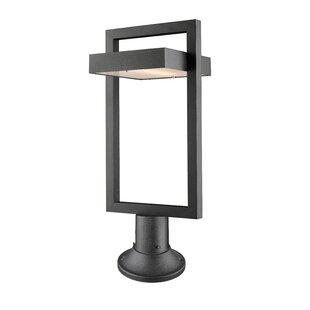 Best Price Fortune 1-Light LED Pier Mount Light By Orren Ellis