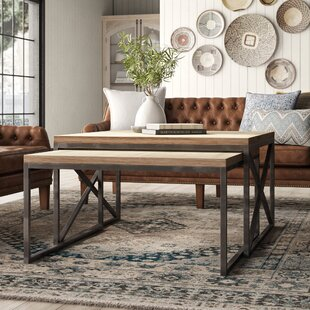 Milledgeville 2 Piece Coffee Table Set