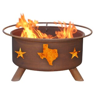Patina Products Texas State Steel Wood Bu..