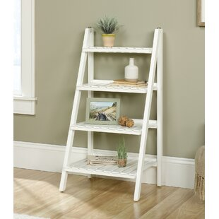 Myrasol Ladder Bookcase by Highland Dunes