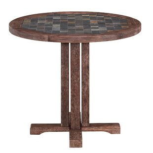 Lakewood Round Dining Table Millwood Pines