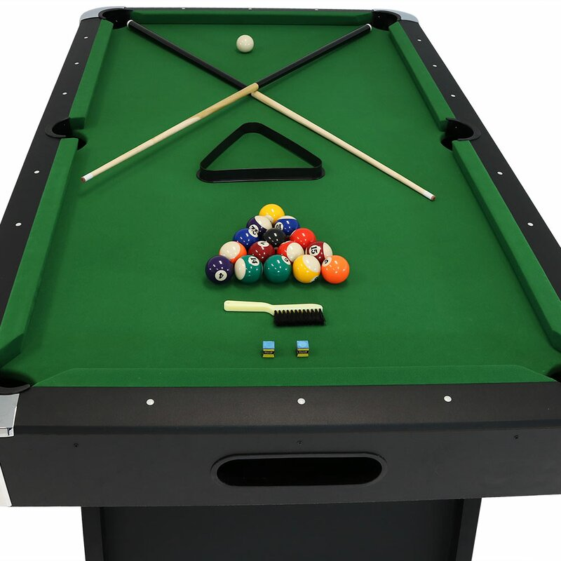 7u0027 Pool Table With Ball Return