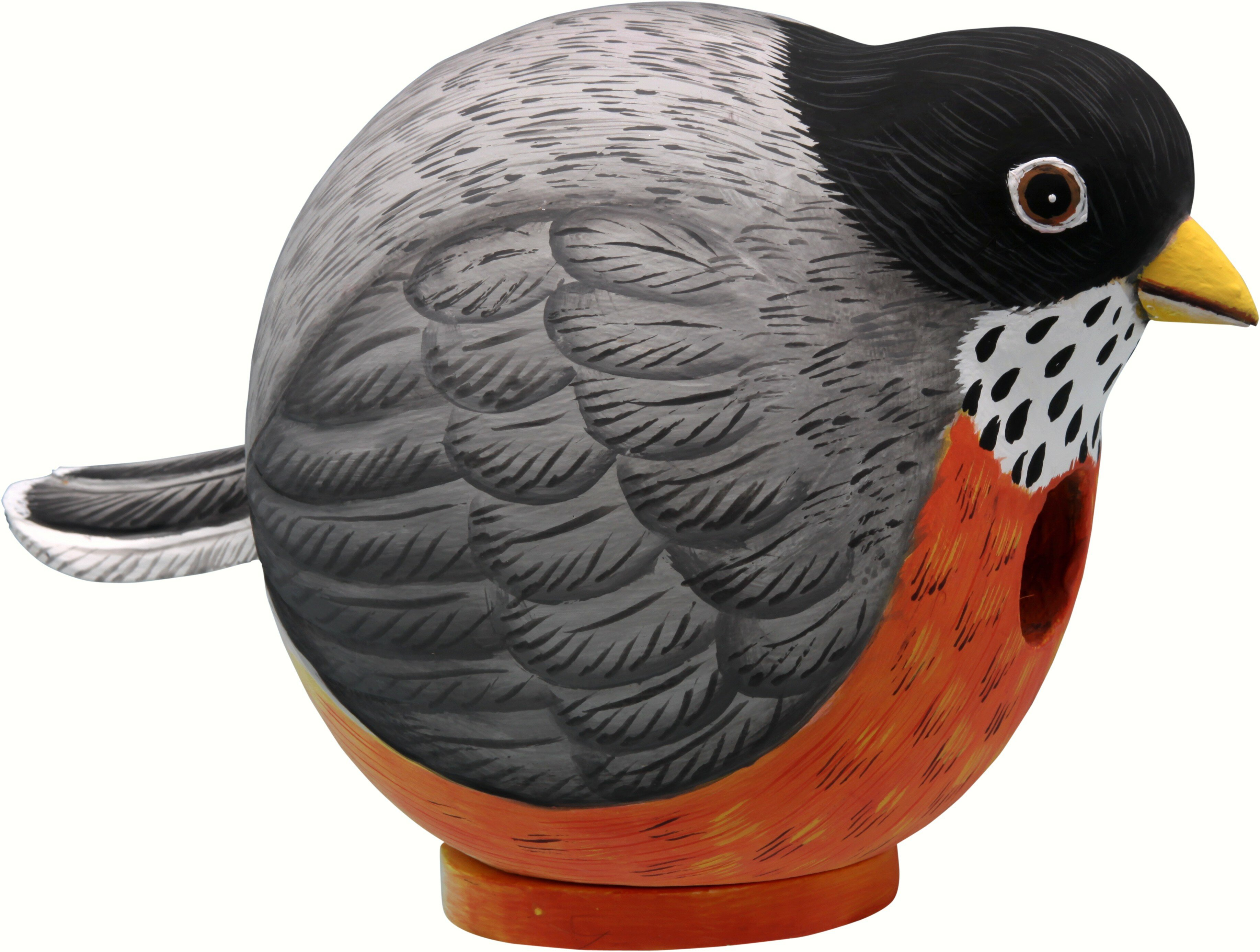 Songbird Essentials Robin Gord O 6 In X 6 In X 9 In Birdhouse Wayfair