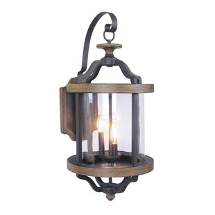 Affordable Price Elisabetta 3-Light Outdoor Wall Lantern By Laurel Foundry Modern Farmhouse
