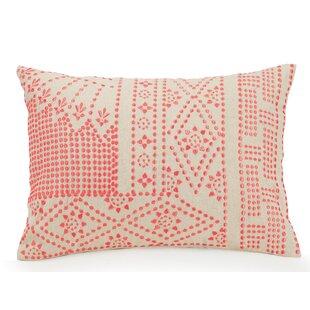 Cuban Tiles Dotty Cotton Lumbar Pillow