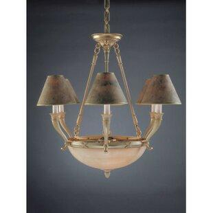 Zanin Lighting Inc. Palma 9-Light Shaded Chandelier