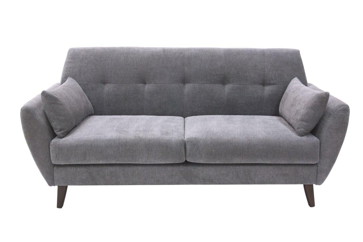 Marvelous Amelie Mid Century Modern Sofa