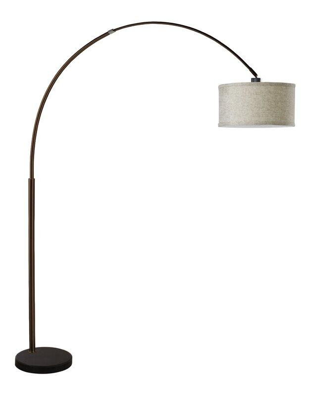Hagans 81 arched floor lamp