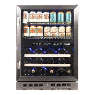 20 Bottle Dual Zone Built-In Wine Cooler
