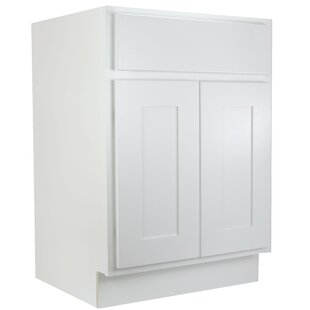 Haxby Single 30 Bathroom Vanity Base by Highland Dunes