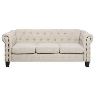 North Adams 3 Seater Chesterfield Sofa By Rosalind Wheeler