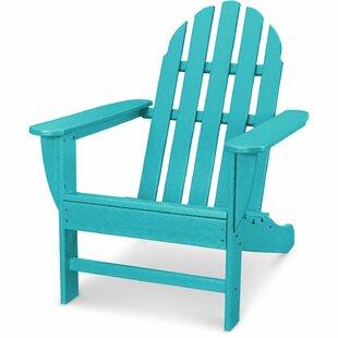 Keenan All-Weather Wood Adirondack Chair by Breakwater Bay