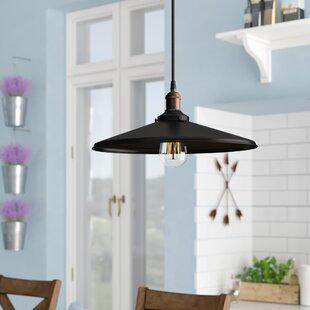 Sandy Springs 1-Light Cone Pendant by Laurel Foundry Modern Farmhouse
