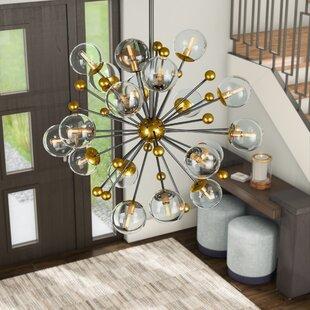 Savings Nancy 20-Light Chandelier By Brayden Studio
