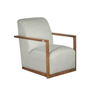 Hamilton Wood Framed Armchair by Tommy Hilfiger