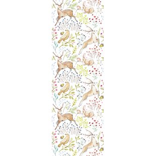Woodland Animal Wallpaper Wayfair