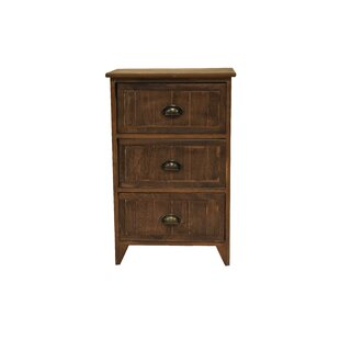Brecht 3 Drawer Chest by Foundry Select