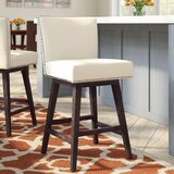 Ricka Swivel Bar & Counter Stool by Alcott Hill®