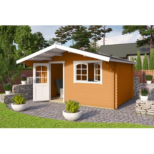 Wilbanks 14 X 14 Ft. Tongue & Groove Summer House By Sol 72 Outdoor