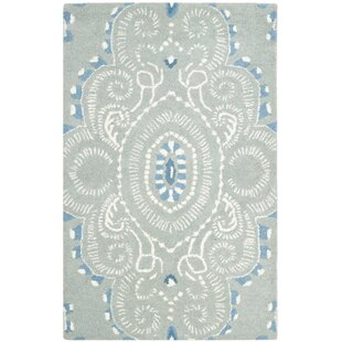 Colesberry Blue/Ivory Rug by Charlton Home