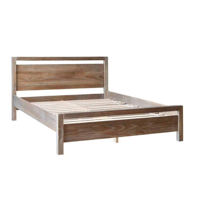 Grain Wood Furniture Loft Queen Platform Bed & Reviews   Wayfair