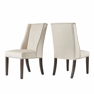 Compare prices Elmo Wingback Chair (Set of 2) By Willa Arlo Interiors