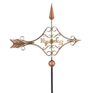 Broomsedge Victorian Arrow Weathervane By Sol 72 Outdoor