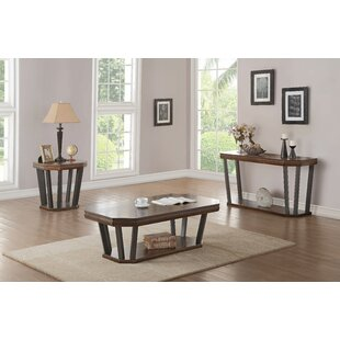 Bedworth 3 Piece Coffee Table Set