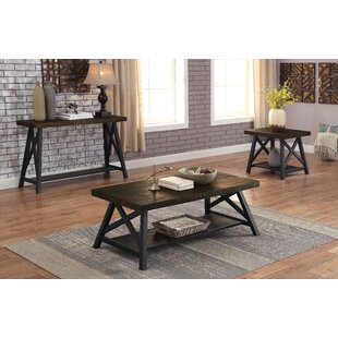 Brookneal 3 Piece Coffee Table Set