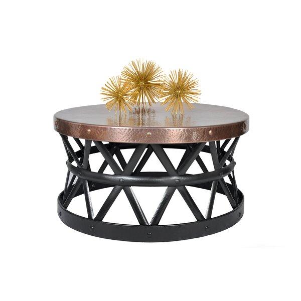 Fantastic Cala Hammered Coffee Table Wayfair Cjindustries Chair Design For Home Cjindustriesco