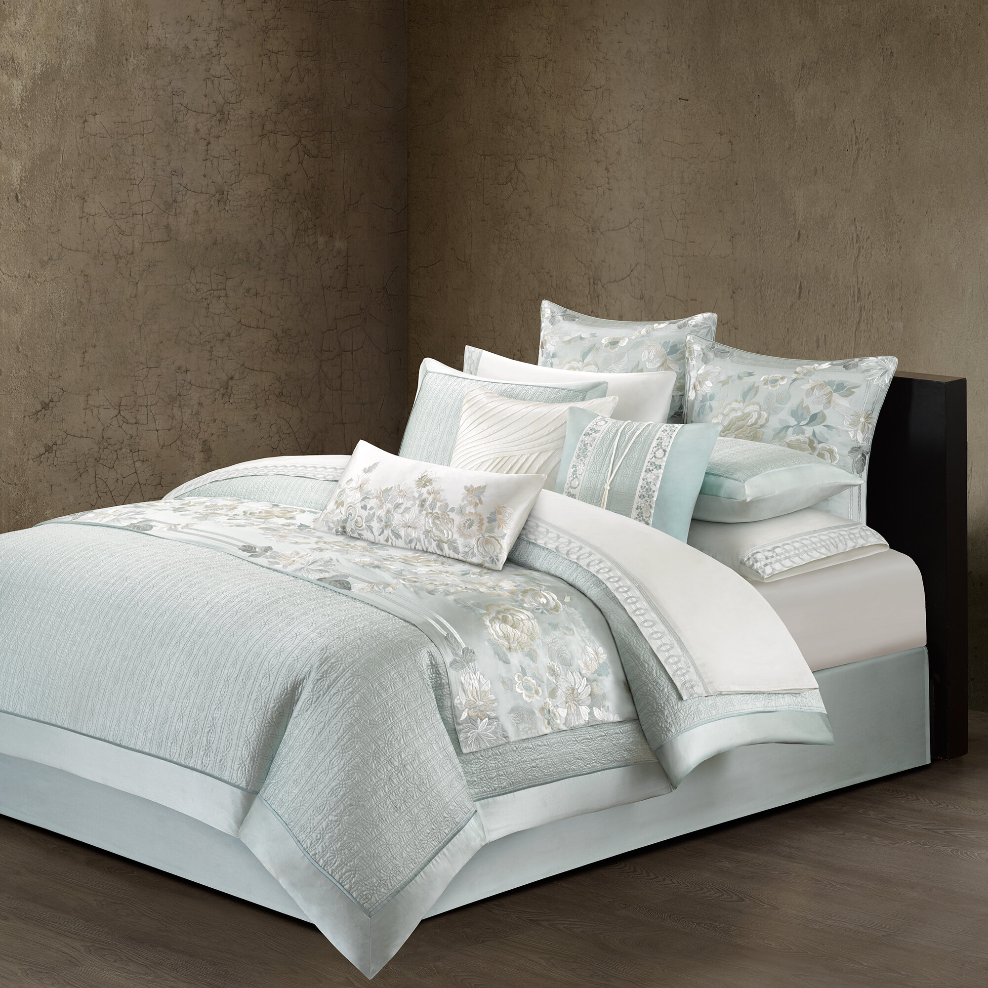 Natori canton quilted duvet cover wayfair