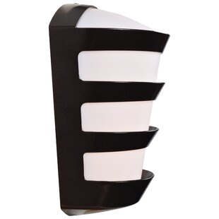 Bastine LED Outdoor Sconce by Ebern Designs