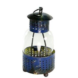 Comparison Reclaimed Metal Lantern By Breakwater Bay