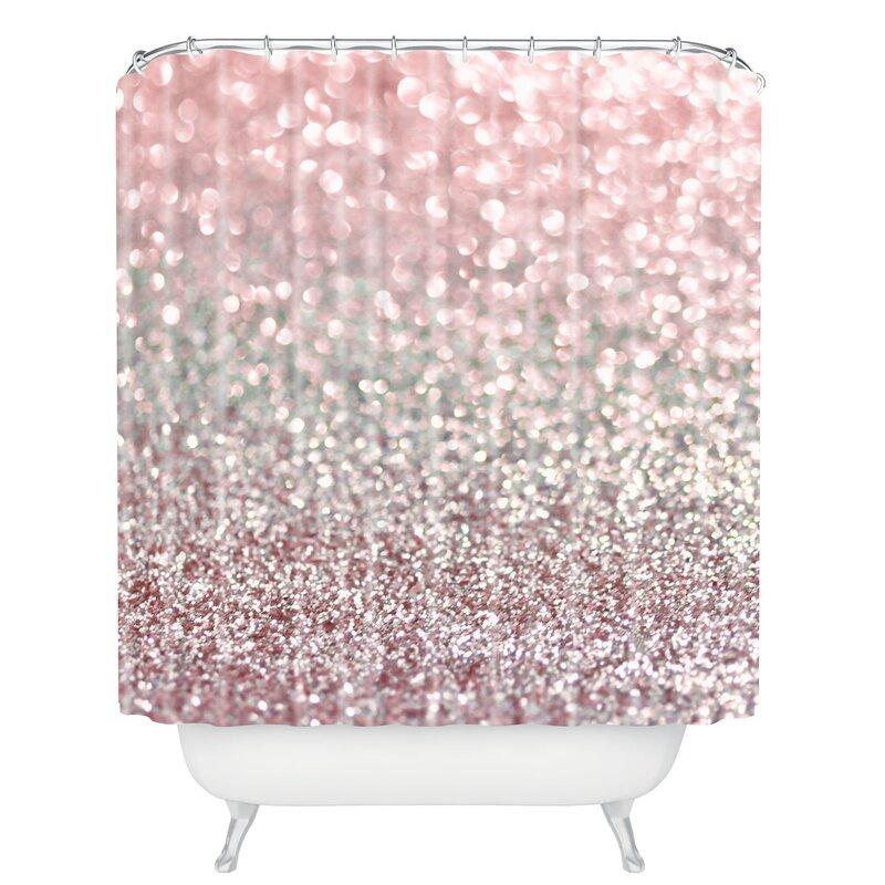 East Urban Home Snowfall Shower Curtain Reviews