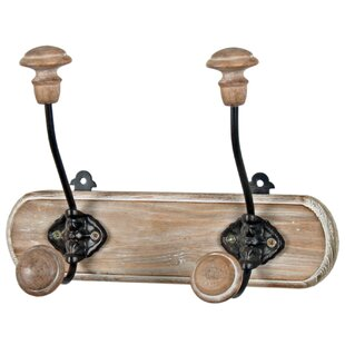 Hudepohl Wall Mounted Coat Rack By Marlow Home Co.