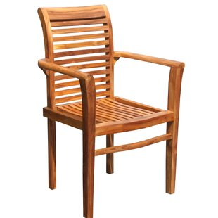 Rio Stacking Teak Patio Dining Chair