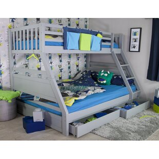 Kiara Triple Sleeper Bunk Bed With Storage By Isabelle & Max