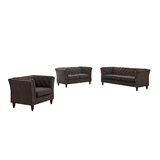 Burtt 3 Piece Standard Living Room Set by Winston Porter