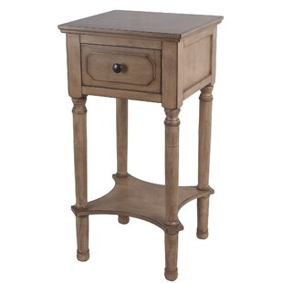 Mckinney End Table with Storage