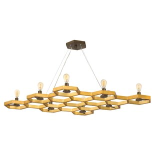 Hinkley Lighting Moxie 8-Light Geometric Chandelier
