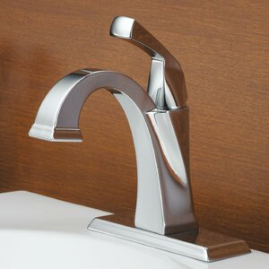 Dryden� Single hole Single Handle Bathroom Faucet with Drain Assembly and Diamond Seal Technology