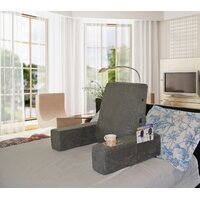 Deals on Latitude Run Massaging Backrest Bed Lounger