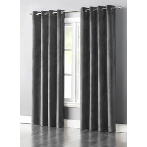 Hartley Solid Blackout Single Curtain Panel