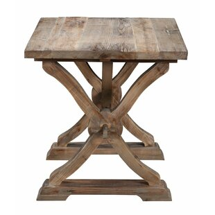 Canterbury Reclaimed Wood End Table by One Allium Way